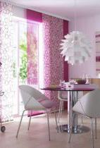 panelfügggöny rózsaszín