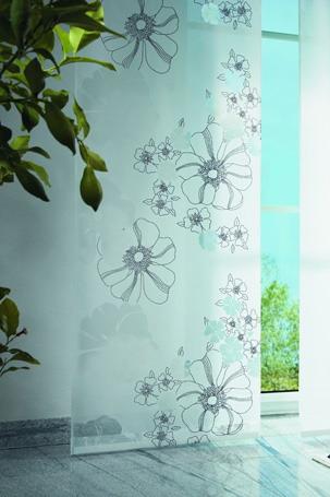 virágos panelfüggöny
