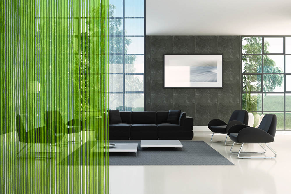 Térelválasztás spagetti függönnyel - Alda függöny és lakástextil