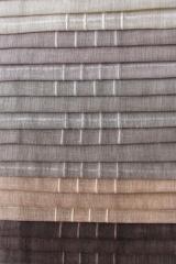16 Len-hatású-polyester-fényáteresztő-függöny