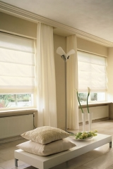 Modern függöny, fehér