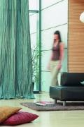Modern, gyűrt anyagú függöny