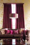 Modern függöny, pink